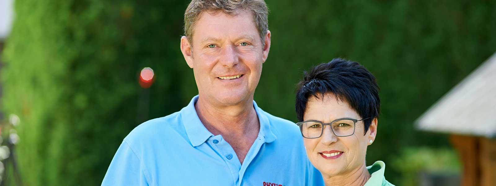 Andreas und Gabi Seiwald Phyioteam Grassau