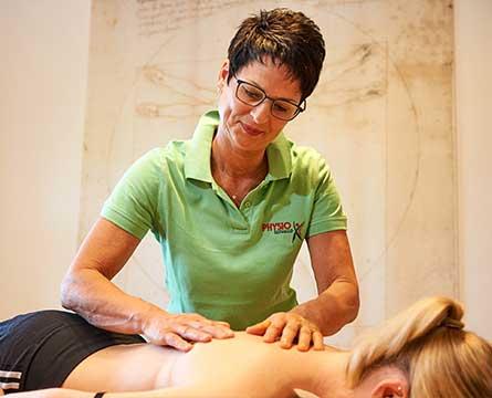 Massagen in der Seiwald Physiotherapie